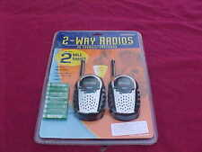 Columbia 2-Way Radio 22 Channel-Built In Flashlight Fas/Gmrs Brand New