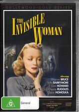 THE INVISIBLE WOMAN - VIRGINIA BRUCE  -  NEW REGION 4 DVD FREE LOCAL POST