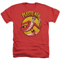 DC Comics PLASTIC MAN Licensed Adult Heather T-Shirt All Sizes