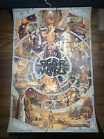 Star Wars An Epic Saga Variant Ise Ananphada Art Print Movie Poster MONDO XX/200