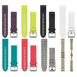 QuickFit 20mm Bands for Fenix 5s (Mutiple Colours Available)