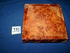 Rüster Maser Ulmenmaser   125 x 125 x 31 mm      Nr: 913