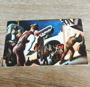 The Bootleggers By Thomas Hart Benton Reynolds House Museum Of America Postcard