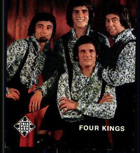 Four Kings Autogrammkarte Original Signiert ## BC 6574