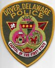 US Capital City HAUPTSTADT  DELAWARE  Dover  Polizei Abzeichen Police Patch USA