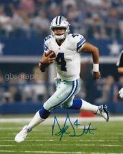 Dak Prescott Signed Autograph 8X10 Photo Dallas Cowboys