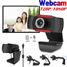 USB 2.0 Genuine 1080P Webcam Camera Digital Web Cam with Mic For Laptop Desktop#