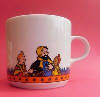 MUG Tintin Haddock et Zorrino. Hauteur 8 cm. Céramique. Moulinsart.1996