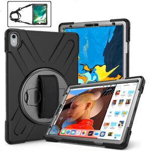 """Defender W/ Hand Shoulder Strap Stand Case Cover For iPad Air 1 2 / 3rd 10.5"""""""
