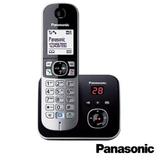 PANASONIC KX-TG6821EB SINGLE DECT CORDLESS TELEPHONE WITH ANSWER MACHINE- BLACK
