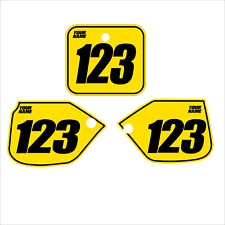 1989 CR 500  Plates  Graphics  (non-perforated)