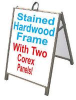 Crossfit Sidewalk A Frame 24x36 Outdoor Vinyl Retail Sign Gym