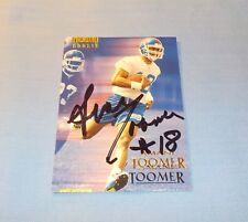 Amani Toomer Signed Autographed 1996 SkyBox Card NY Giants Rookie