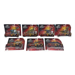 Jurassic World Dino Rivals Attack Pack NEW Lot of 7 Jurassic Park Dinosaurs