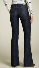 PAIGE PREMIUM DENIM  LAUREL CANYON LOW RISE BOOT CUT stretchy long jeans 25
