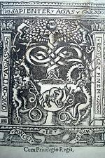 DIONYSIUS De situs orbis cum commentariis Eustathii .. 1556 GREC GRECE LE PREUX