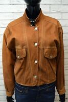 GUESS MARCIANO Giacca Vintage in Pelle Donna Jacket Blazer Woman Taglia Size 42