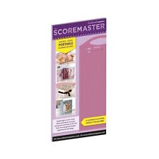 The SCOREMASTER Portable Double Sided Scoring Board for A4 Crafters Companion