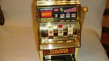 Large Scale Slot Machine and Piggy Bank