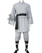 Chinese Shaolin Monk Uniform Kung fu Costume Tai chi Martial arts Suit Cotton