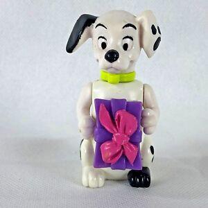 Disney 101 Dalmatians McDonald's Happy Meal Exclusive Dog Figure Holding Gift