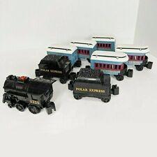 Lot of 8 Lionel Little Lines Polar Express Train 1225 Engine Coal Passenger Cars