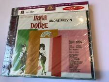 IRMA LA DOUCE (Andre Previn) OOP 1963 Rykodisc Score Soundtrack OST CD SEALED