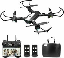 Drone con Telecamera Pieghevole HD WiFi FPV Foto Gestuale Brushless  Borsa