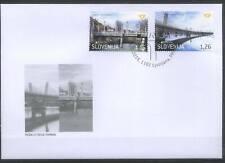 Slovenia 2018 Europa CEPT, Architecture, Bridges FDC