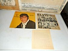 ELVIS LETS BE FRIENDS - CAS-2408 CAMDEN RIGID ORANGE  WITH UNIQUE A-P REPORT