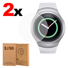 2x Samsung Galaxy Gear S2 /S2 Classic Watch Tempered Glass Screen Protector Film