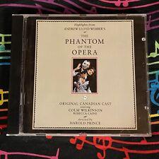 The Phantom of the Opera [Highlights] Original Canadian Cast (1990 CD, PolyGram)