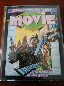 Movie  - ZX Spectrum 48K/128K Imagine Working 1986 DBL Cassette box