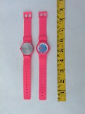 Vintage 1980's Hot Pink MOREY BOOGIE Surf Surfing Wrist Watch NEW NOS 80s swatch