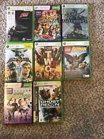 Lot Of 11 Xbox 360 Games -Forza,Darksiders,Soul Calibur4,armyof2,Batman