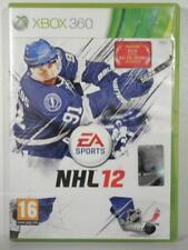 jeu NHL 12 pour XBOX 360 en francais game spiel hockey sur glace 2012 sport X360