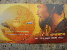 THE FIRST EMPEROR THE MAN WHO MADE CHINA EMMY DVD DISCOVERY Qin Shi Huang Di