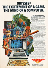 1981 Odyssey-2 Computer Game System -  Classic Vintage Advertisement Ad J01