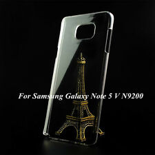 Clear Crystal Transparent Hard Plastic Case Cover Skin For Samsung Galaxy Note 5