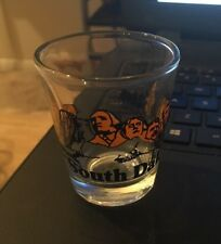 Shot Glass: South Dakota, Mt Rushmore, Buffalo