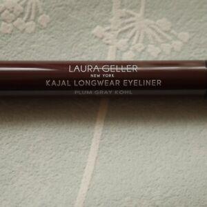Laura Geller Kajal Longwear Eyeliner BN Plum Gray Kohl waterproof liner/shadow