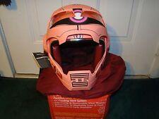 Masei 610 Red Zaku Gundam Motorcycle Bike Bull Char Open Face Arai Helmet -LARGE