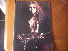 yngwie malmsteen japanese tour programme 1994 seventh sign tour