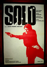 SOLO 1970 FRENCH JEAN PIERRE MOCKY SYLVIE BREAL DUVALEIX UNIQU EXYU MOVIE POSTER