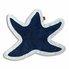 Bath mat in the shape of starfish Missoni Original Blue and light beige - Lohja