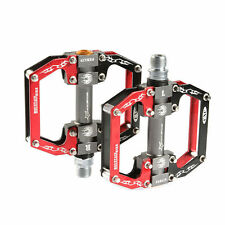 RockBros Aluminum Alloy Pedals Sealed Bearing Cycling Bike Pedal Black Red