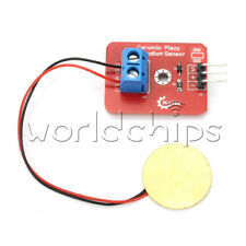 Analog Ceramic Piezo Vibration Sensor Module Piezoelectricity for Arduino UNO