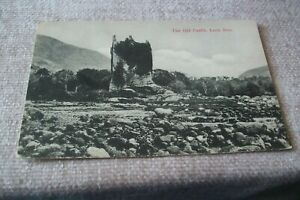 POSTCARD -- THE OLD CASTLE , LOCH BUIE, MULL