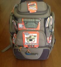 Wild River Lighted Fishing Tackle Backpack W/ 4 trays. Wt3604. New