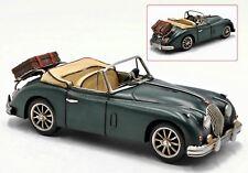 1959 Dark Green Jaguar XK150 DHC Convertible 1;12 Scale Model Car Decor